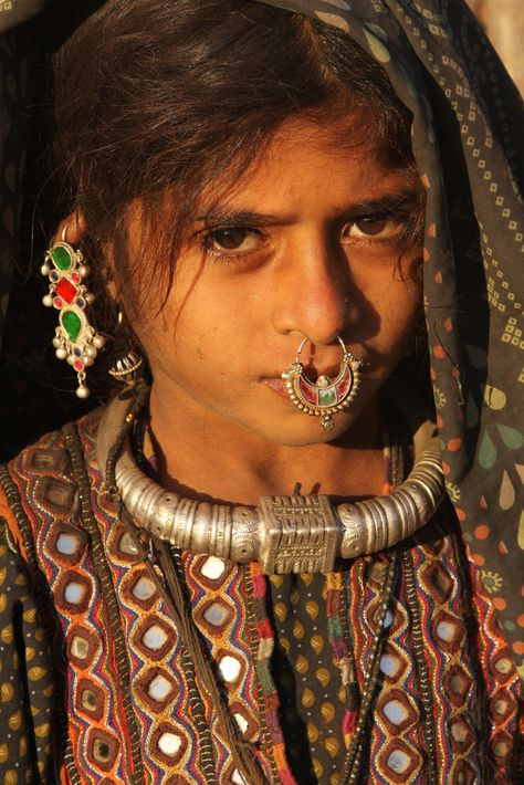 Rare Indian tribal fashion