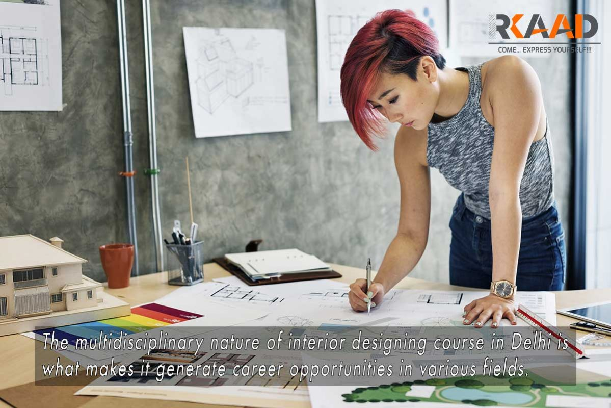 Interior designing course in Delhi